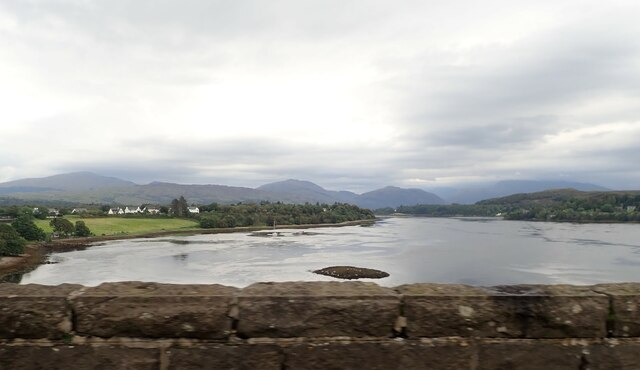 Loch Etive from the Connel Bridge