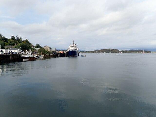 Caledonian MacBrayne ferry at Oban