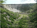 SE9359 : Disused chalk pit, north-east of Wetwang by Christine Johnstone