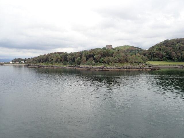 Dunollie headland