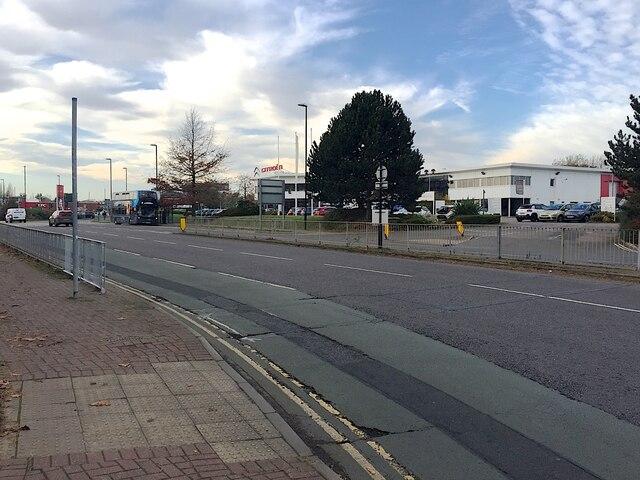 Citroën dealership, Herald Avenue, Coventry Business Park