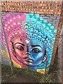 SP3264 : 'Never Ready', street art, Royal Leamington Spa by Robin Stott