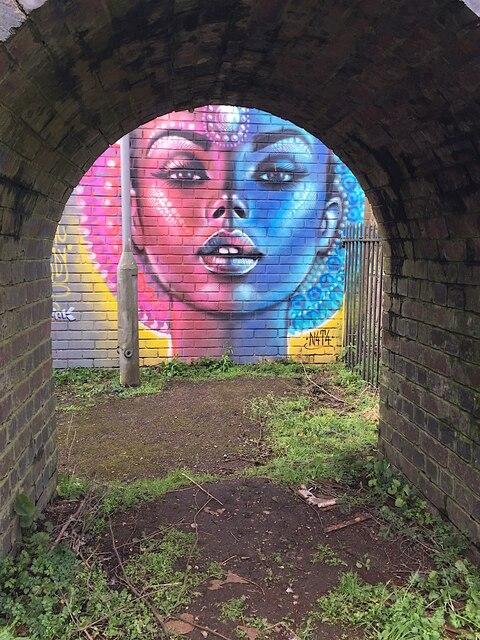 'Never Ready', street art, Royal Leamington Spa