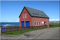 NJ4265 : Moray Coastguard Station by Anne Burgess