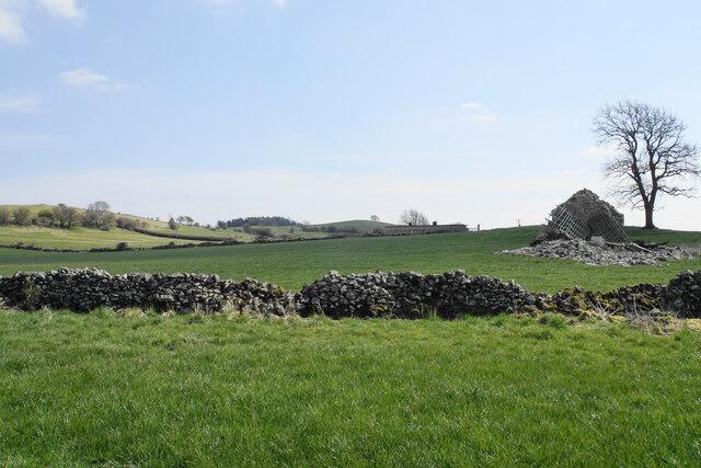 Farmland below Masson Hill