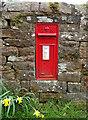 NY5442 : George V postbox, Staffield by JThomas