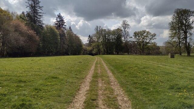 Bridleway to Barton Lodge