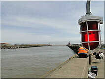 TG5303 : Where the river meets the sea by Adrian S Pye