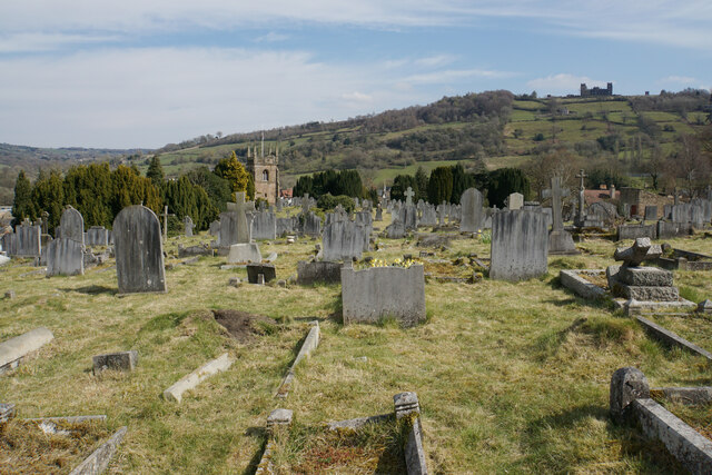 Churchyard of St Giles, Matlock