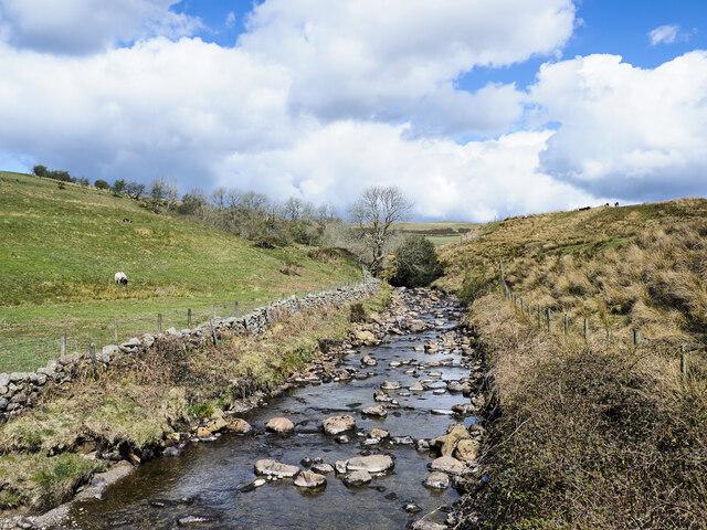 River Calder, upstream