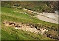 SX6345 : Chasm behind Westcombe Beach by Derek Harper
