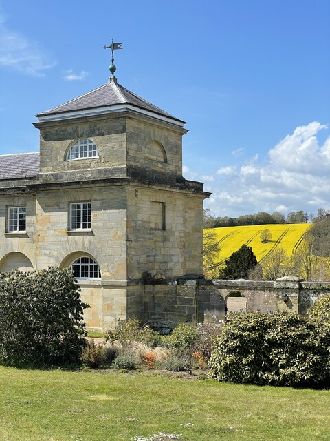 The former stables at Ashburnham Place