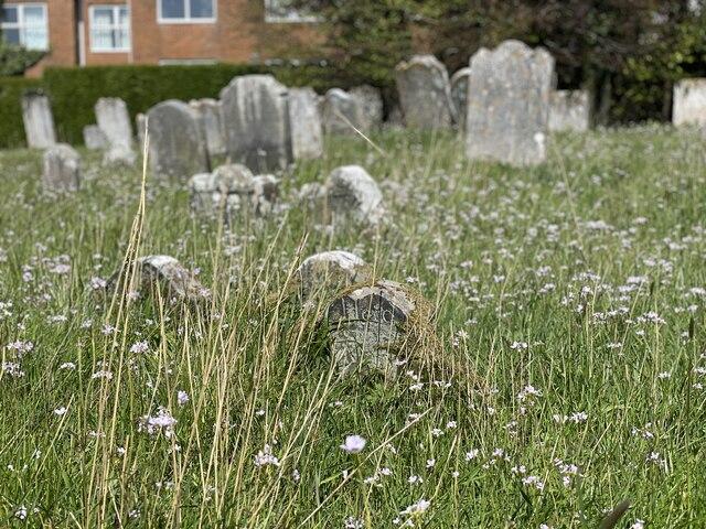 Gravestones at Parish Church of St Peter