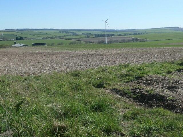 Wind turbine, Helperthorpe Field