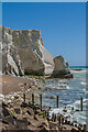 TV4998 : Stack, Seaford Head by Ian Capper