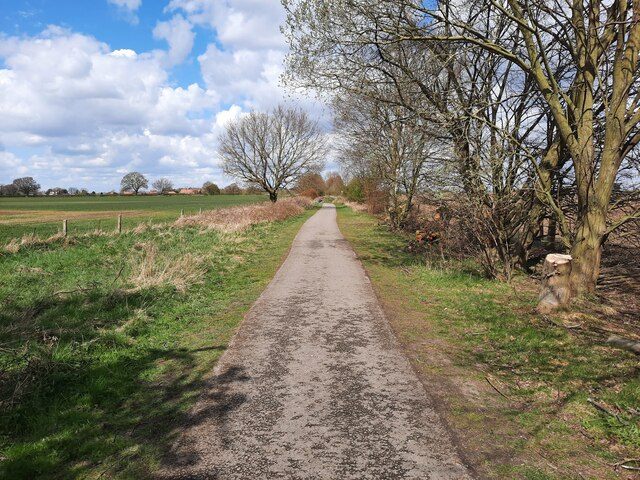 The York to Selby Cycle path
