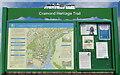 NT1877 : Cramond Heritage Trail - information board by M J Richardson