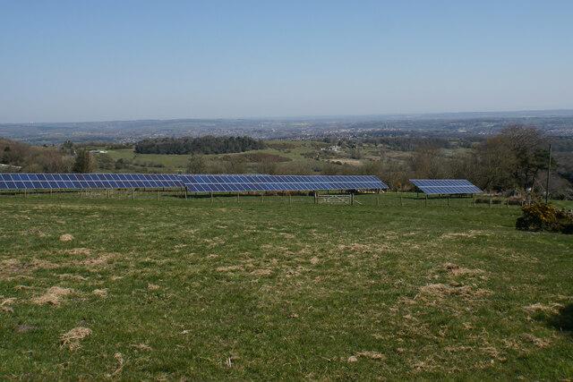 Solar farm at Spitewinter