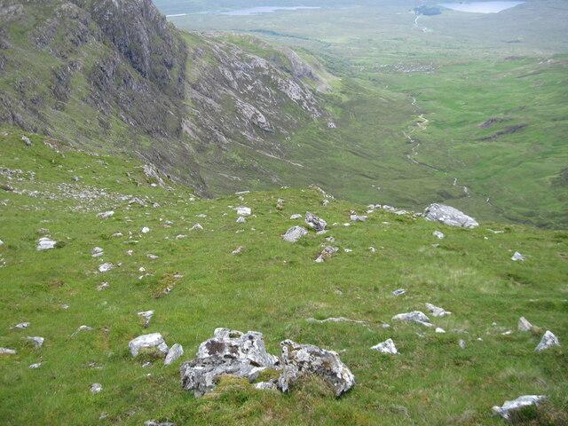 Towards Bealach a' Ghlas-chnoic