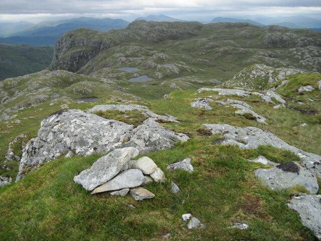 Ridge towards Glas Bheinn