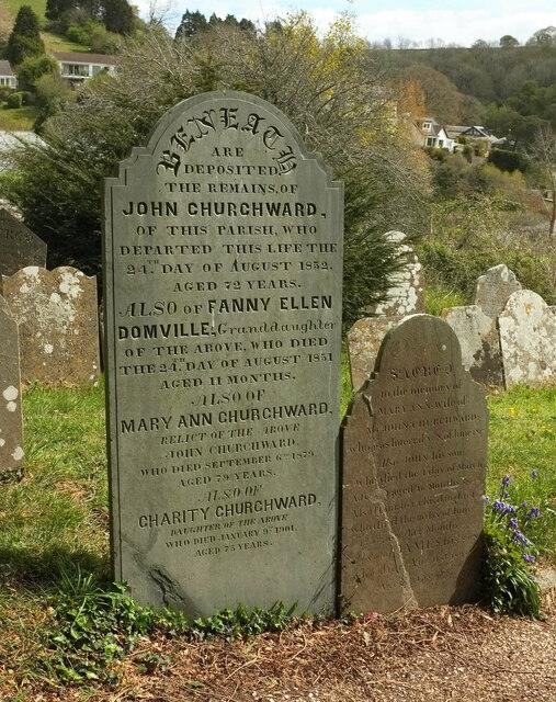 Headstones, Stoke Gabriel