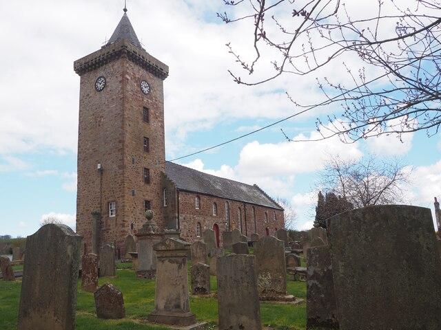 Greenlaw Church in Berwickshire