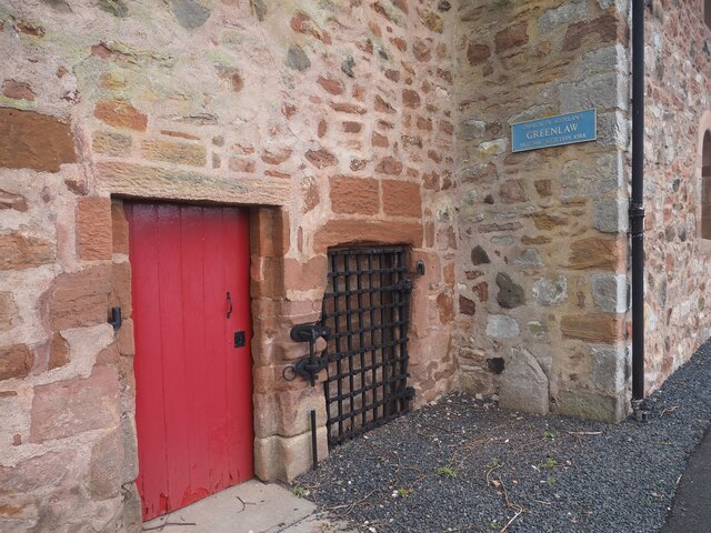 The old Prison at Greenlaw Church