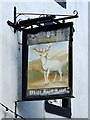 NY6820 : Sign on the former White Hart Hotel on Boroughgate, Appleby by JThomas