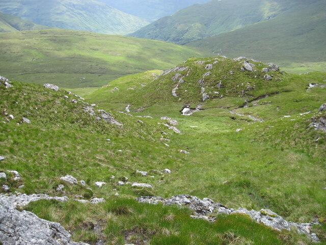Hillside below Carnan Cruithneachd
