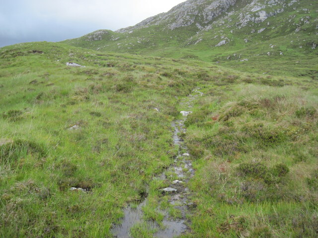 Path in Bealach Con