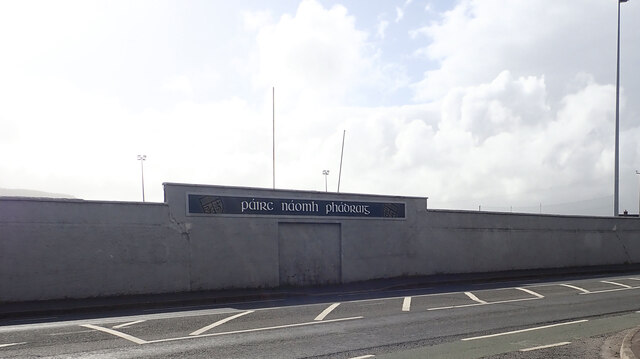 Former Main Entrance to Bryansford GAC at St Patrick's Park
