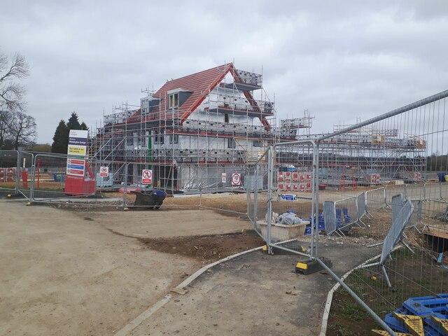 New housing development, Ponteland Road, Newcastle upon Tyne