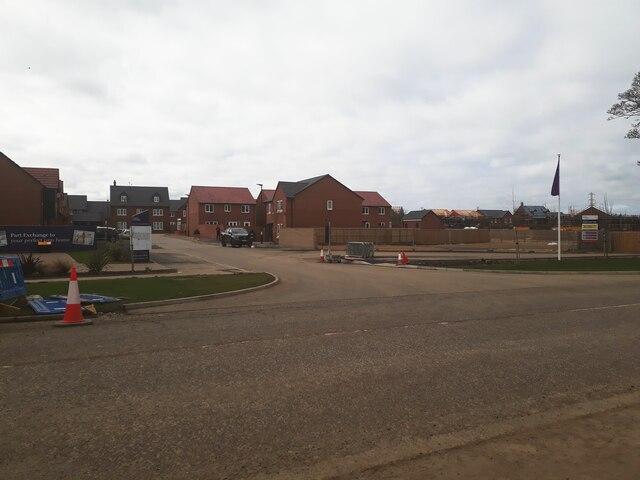 Housing development, Kenton Bank Foot