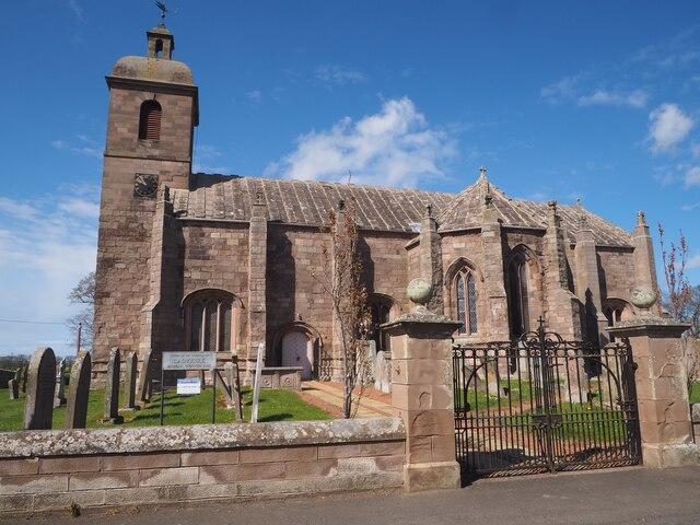 St Mary's Parish Church in Ladykirk Berwickshire