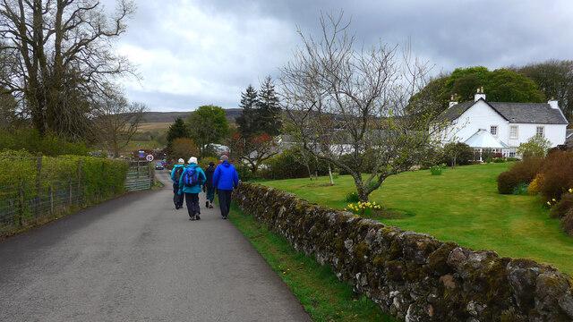 Approaching Edenmill