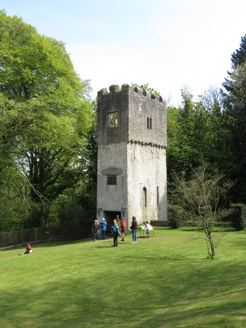The Watch Tower at Fonmon Castle