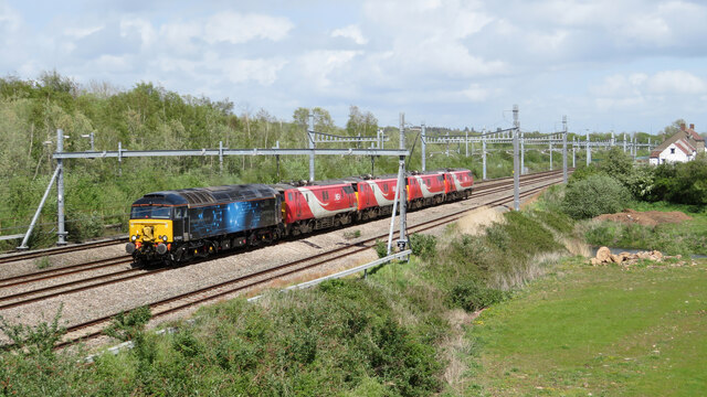 Class 91s for scrap passing Undy