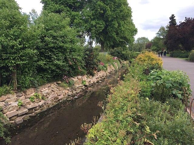 St John's Brook revealed, St Nicholas Park, Warwick