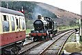 SJ1143 : 5322 runs round at Carrog Station, Llangollen Railway by Martin Tester