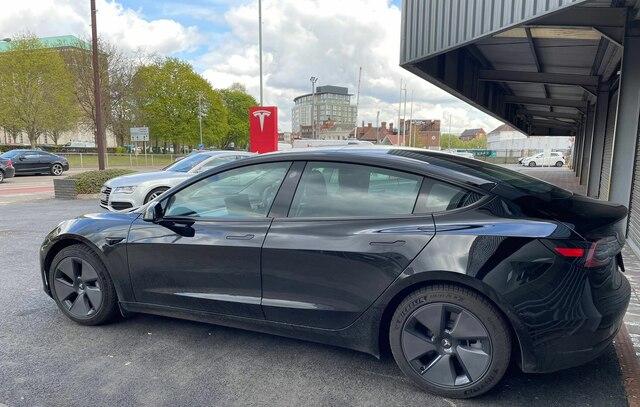 Tesla Model 3 in Nottingham