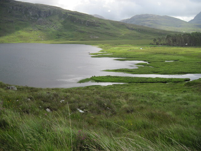 Southern end of Loch Damh