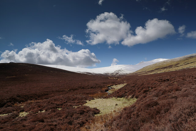 Salehow Beck from the bridleway to Skiddaw House