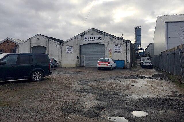 Falcon workshops, Lock Lane, Warwick