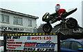 SX8966 : Santa at Nick Palmer's by Derek Harper