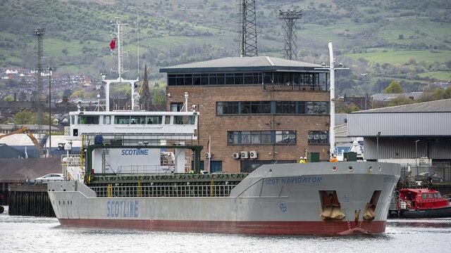 The 'Scot Navigator' at Belfast