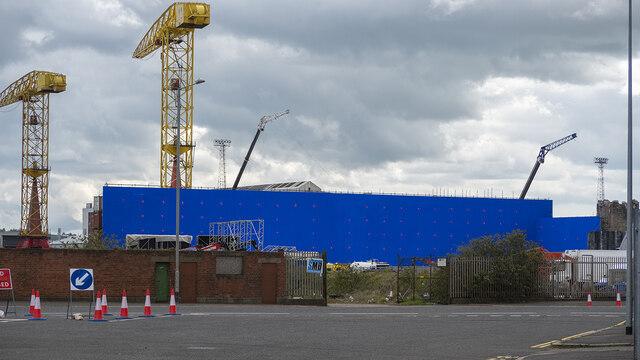 Blue Screen, Belfast