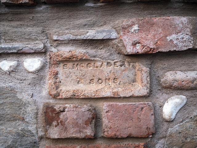McGladery brick, Bangor