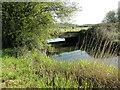 TM2758 : Peering under Sanctuary Bridge on the River Deben by Adrian S Pye