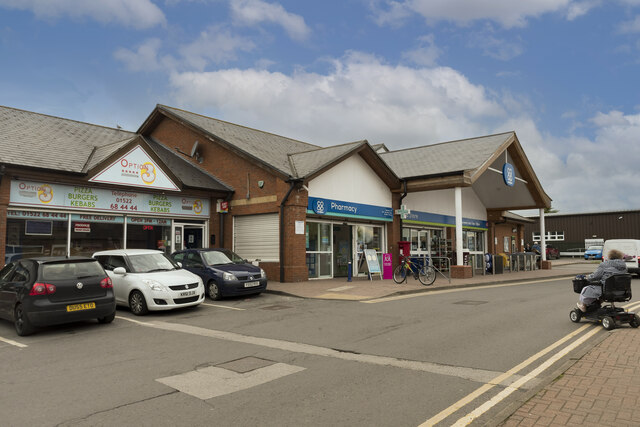 Co Op store and Pharmacy, Hykeham Green