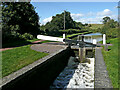 SO8690 : Filling Marsh Lock near Swindon, Staffordshire by Roger  Kidd